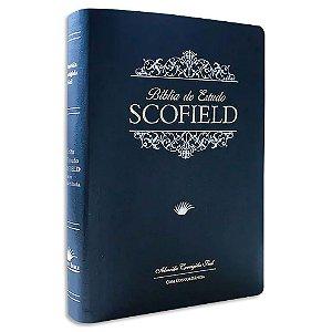 Bíblia de Estudo Scofield ACF Grande Azul