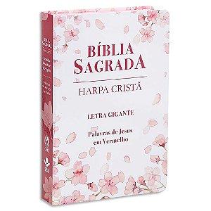 Bíblia Feminina com Harpa Letra Gigante