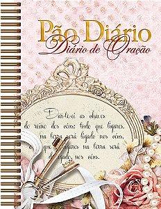 Diário de Oração Pão Diário - diversas capas e modelos