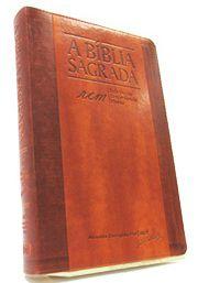Bíblia Almeida Corrigida Fiel Letra Gigante RCM - várias capas