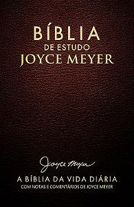 Bíblia de Estudo Joyce Meyer Letras Grandes NVI