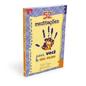 livro devocional 52 Meditações para Você e Seu Filho