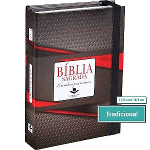 Bíblia Sagrada Fonte de Bençãos com caderno para anotações