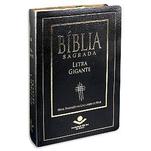 Bíblia Sagrada NTLH Letra Gigante capa preta