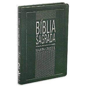 Bíblia Sagrada com Harpa Almeida Revista e Corrigida