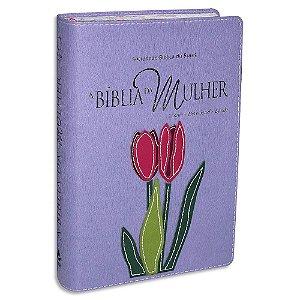 A Bíblia da Mulher RA Média Malva