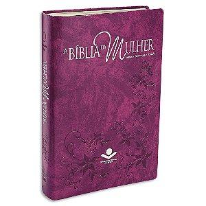 A Bíblia da Mulher RA Grande Púrpura