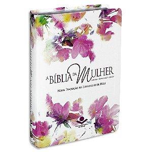 A Bíblia da Mulher capa Aquarela