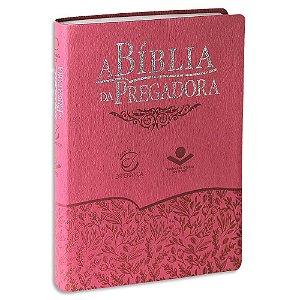 A Bíblia da Pregadora Capa Rosa Luxo