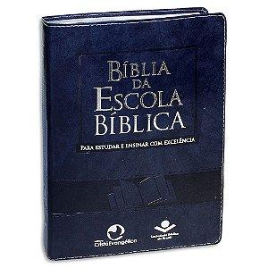 Bíblia da Escola Bíblica versão RA Capa Azul