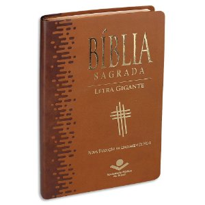 Bíblia NTLH Letra Gigante capa marrom