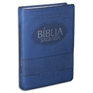 Bíblia Letra Gigante RA capa Azul