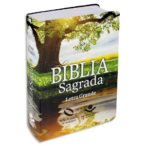Bíblia Letra Grande NAA capa semiflexível Árvore
