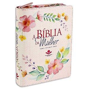 A Bíblia da Mulher com Zíper RC capa Florida