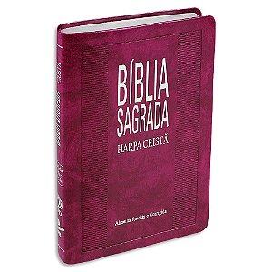 Bíblia Slim com Harpa Púrpura