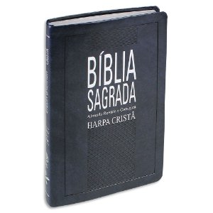 Bíblia Slim com Harpa Azul