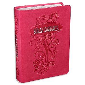 Bíblia Letra Grande Pink