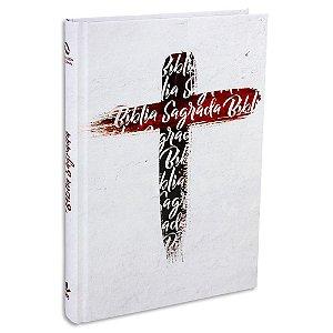 Bíblia Jovem versão NAA capa Ilustrada Branca