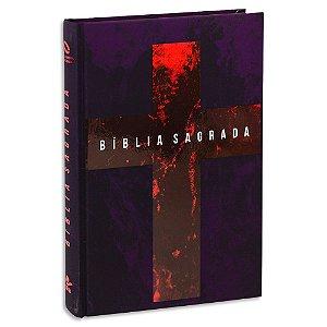 Bíblia Jovem versão NAA capa Cruz Ilustrada