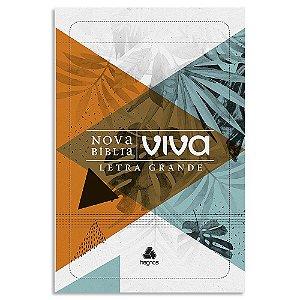 Nova Bíblia Viva Letra Grande Folhagem