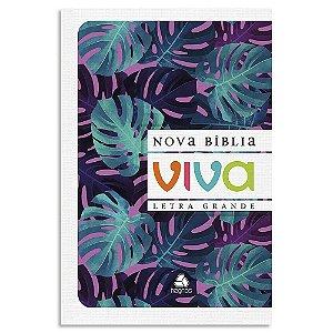 Nova Bíblia Viva Natureza Letra Grande
