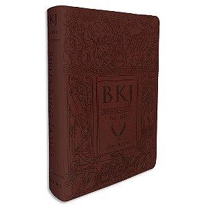 Bíblia King James Letra Ultra Gigante Marrom