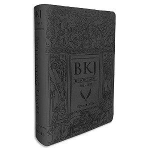 Bíblia King James 1611 Preta Letras Gigantes