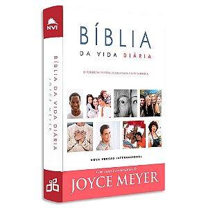 Bíblia da Vida Diária com notas e comentários de Joyce Meyer