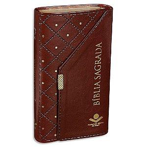 Bíblia Carteira Almeida Atualizada Marrom