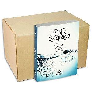 Bíblia Sagrada Fonte de Bençãos Edição Compacta | KIT com 9
