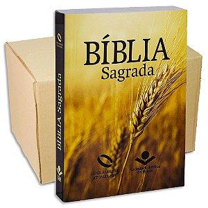 Bíblia Sagrada Nova Almeida Atualizada capa Trigo | KIT com 6