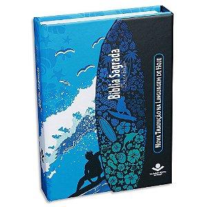 Bíblia Sagrada NTLH para Adolescente com Fonte de Bençãos SURF