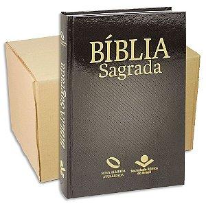 Bíblia Nova Almeida Atualizada capa Ilustrada - Kit com 9