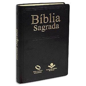 Bíblia Nova Almeida Atualizada Letra Gigante capa Preta