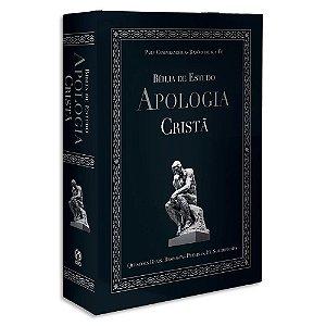 Bíblia de Estudo Apologia Cristã GRANDE capa dura