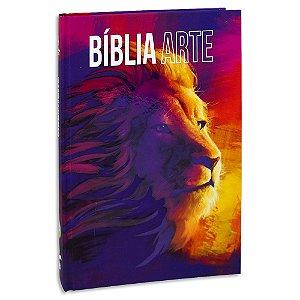 Bíblia Jovem Nova Almeida Atualizada capa ilustrada Leão