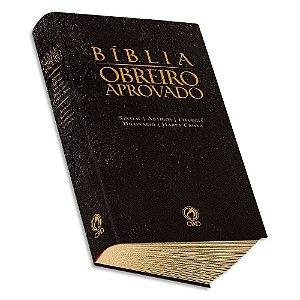 Bíblia do Obreiro Aprovado com Harpa Preta