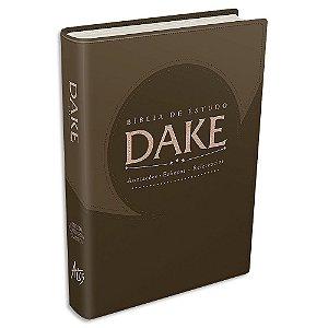 Bíblia Dake capa Marrom