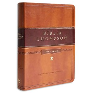 Bíblia Thompson Letra Grande Marrom