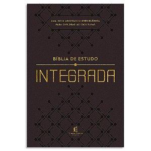 Bíblia de Estudo Integrada Marrom