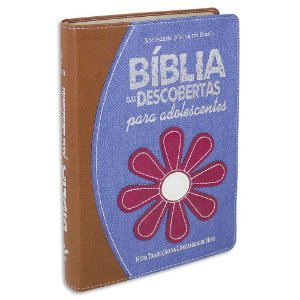 Bíblia das Descobertas para Adolescentes capa Jeans