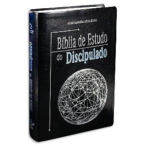 Bíblia de Estudo do Discipulado Completa Couro Sintético