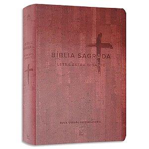 Bíblia Letra Extra Gigante NVI Vinho