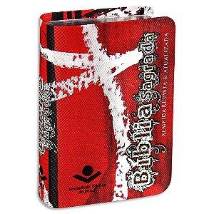 Bíblia para Evangelismo Vermelha Edição de Bolso Kit com 10