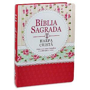 Bíblia Letra Gigante com Harpa Ilustrada Econômica