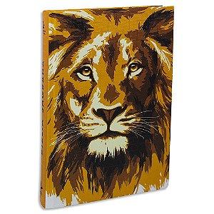 Bíblia Sagrada Letra Grande NAA Leão
