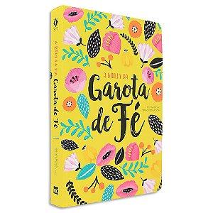 Bíblia da Garota de Fé NVT capa Primavera