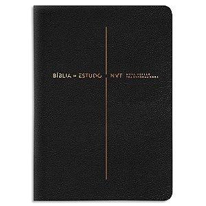 Bíblia de Estudo NVT Preta