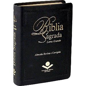 Bíblia Sagrada Letra Grande RC Preta Pequena