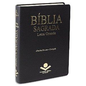 Bíblia Sagrada Letra Grande ARC Média Preta